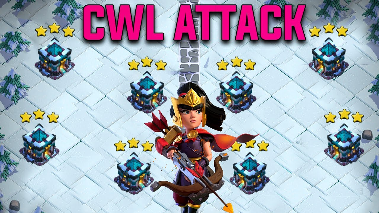 CWL 2020 | Town Hall 13 New CWL Attack For August 2020 | CWL Th13 3star Attack | Clash of Clans