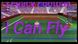 ROBLOX || Legacy Fußball || Ich KANN FLY