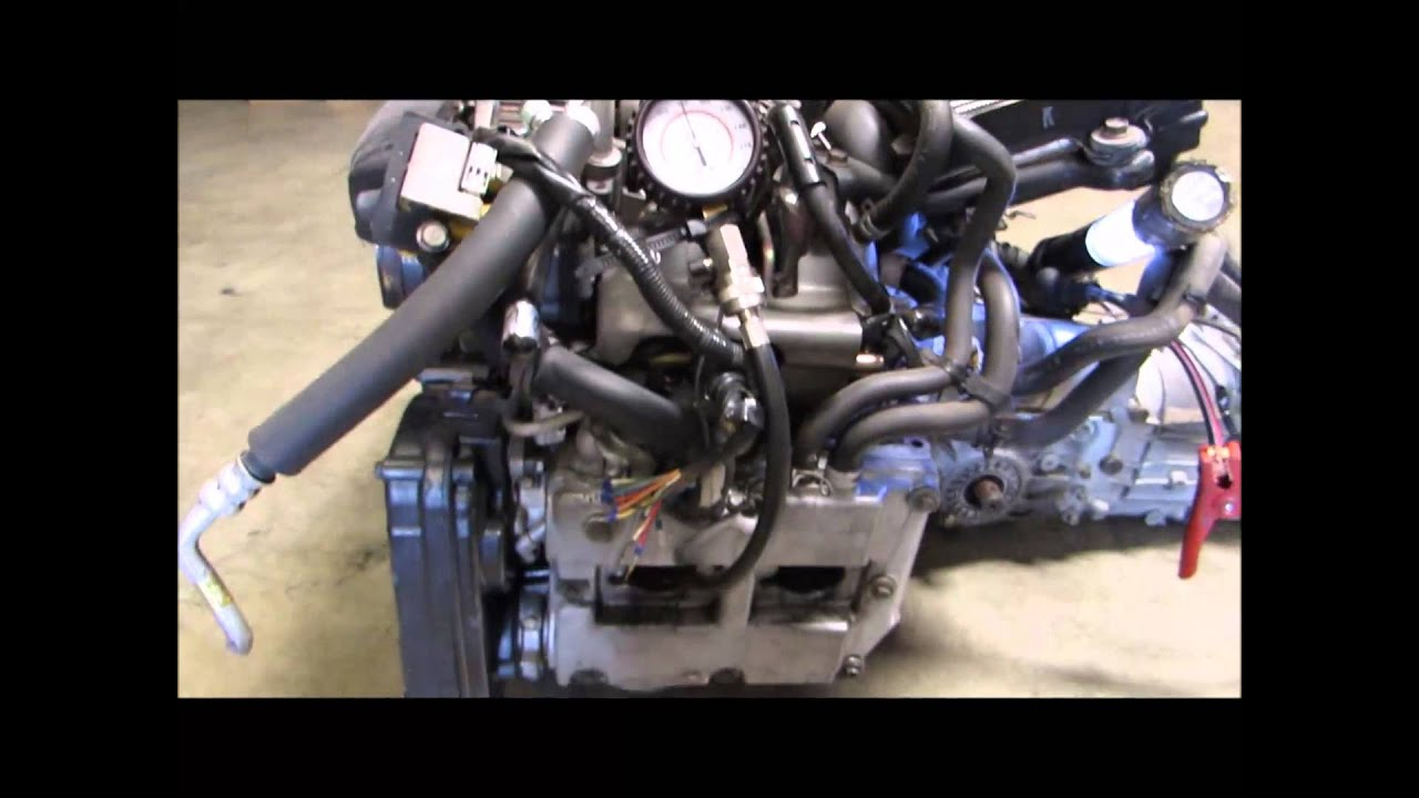 JDM EJ20 TURBO COMPRESSION TEST