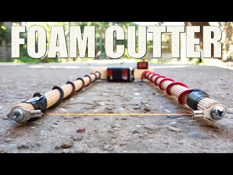 How to Make an Electric Styrofoam Cutter