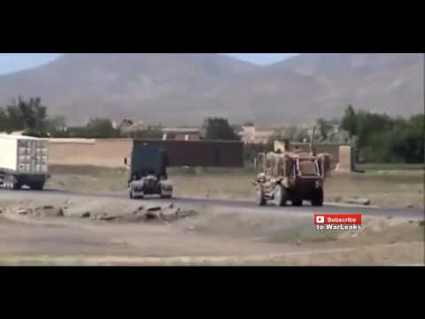 www Muviza net Taliban IED Sends Afghan National Army MRAP Flying Afghanistan War 2015 Mp3 & Video Mp4