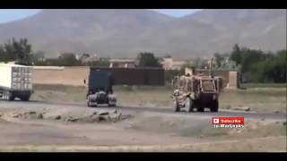 Www Muviza Net Taliban IED Sends Afghan National Army MRAP Flying   Afghanistan War 2015