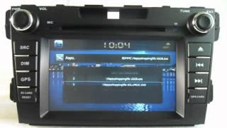 Штатные Головные Устройства DVD Mazda CX 7(, 2012-09-04T03:40:36.000Z)