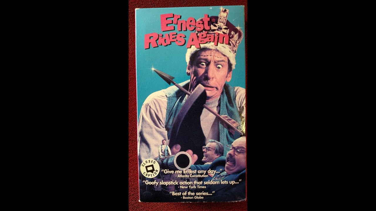 opening to ernest rides again 1994 vhs youtube