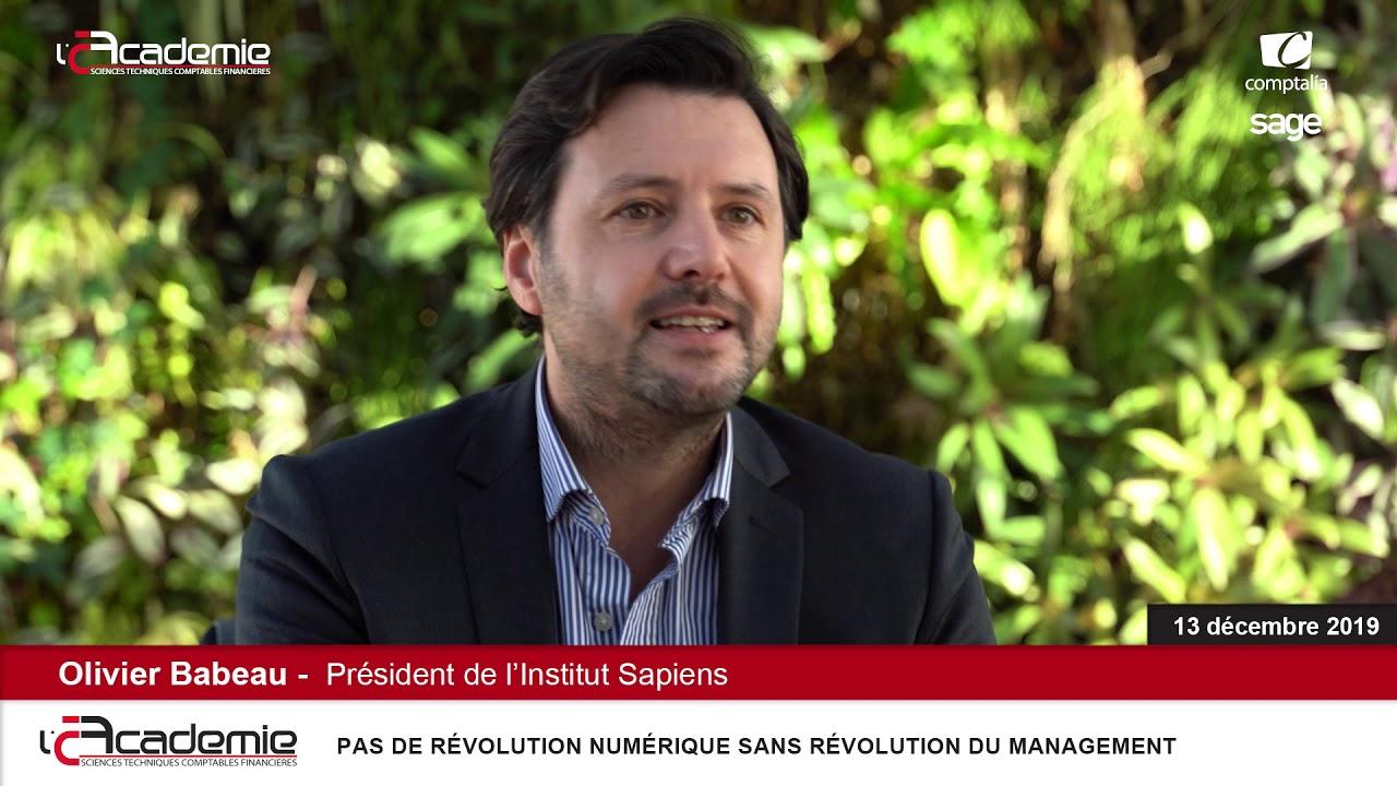 Les Entretiens de l'Académie : Olivier Babeau