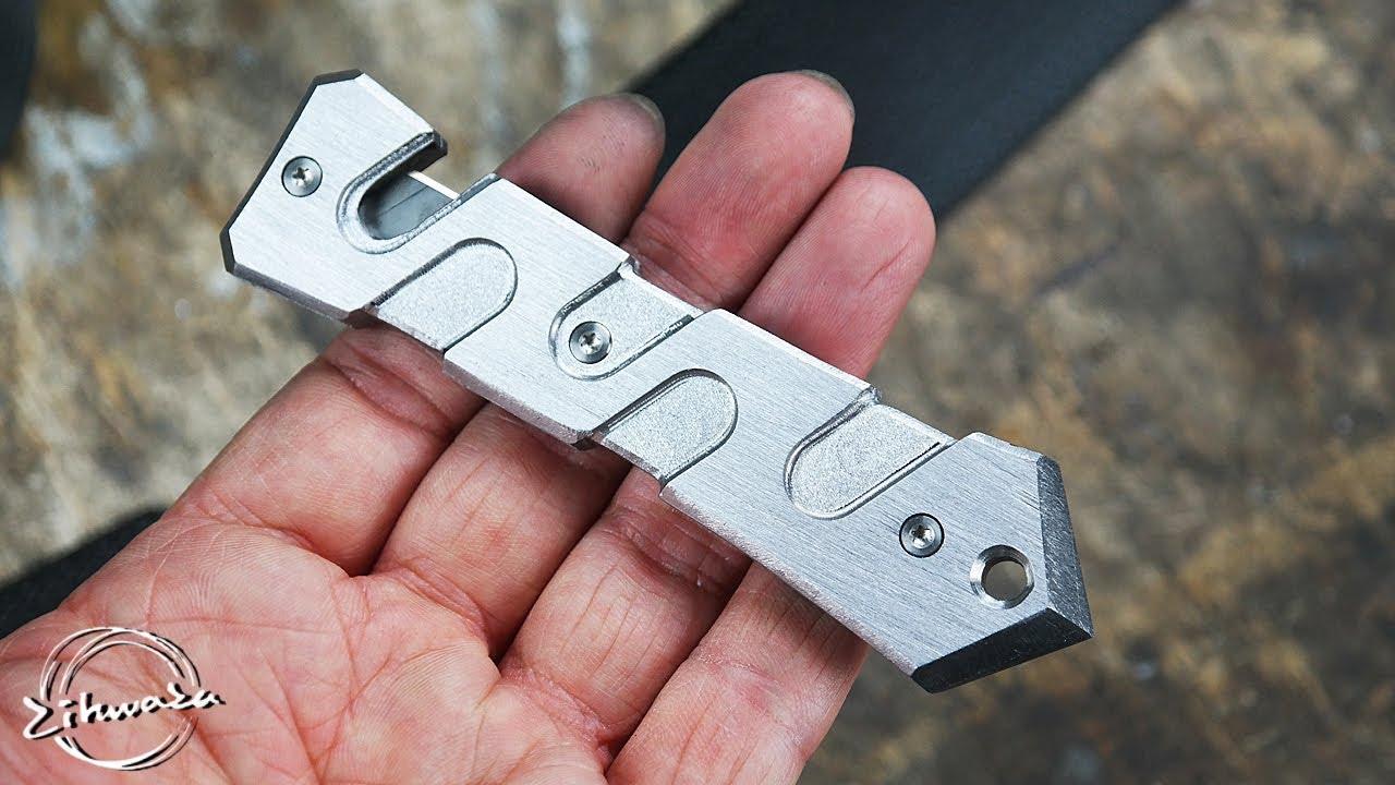 자동차 위기 탈출도구 만들기 / Making a Emergency Seat Belt Cutter and Window Breaker Tool