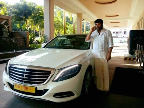 Mammootty Car Collection - 2017