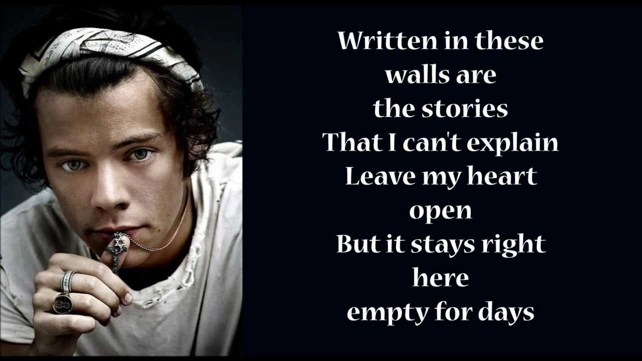 One Direction - Story Of my life (lyrics with pics) - YouTube