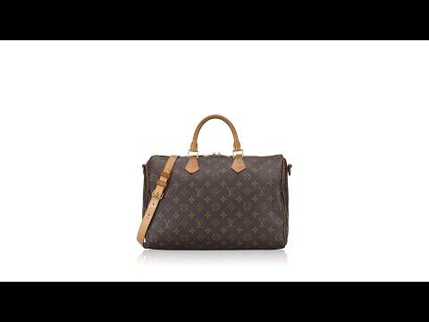 Louis Vuitton Monogram Speedy Bandouliere 35