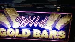 Wilde gold bars slot play w/ line hit !!!
