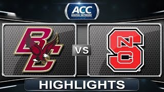 Boston College vs NC State | 2014 ACC Softball Highlights