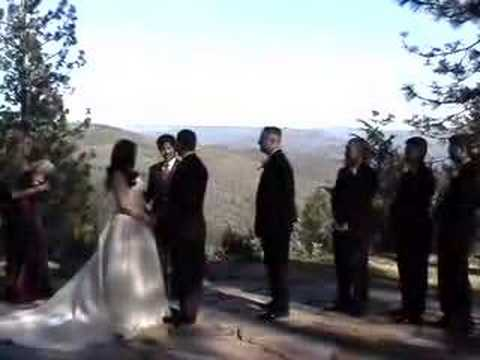 Officiating Nick And Maris Wedding In Forresthill California