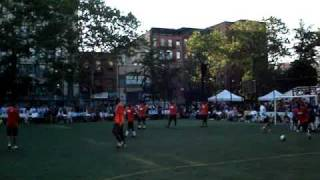 Steve Nash Soccer & Claudio Reyna Showdown in Chinatown-  June 23 2010