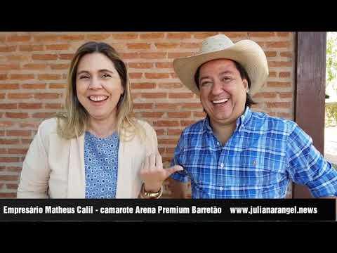 Entrevista com o empresário Matheus Calil – camarote Festa do Peão de Barretos
