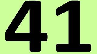 АНГЛИЙСКИЙ ЯЗЫК ДО АВТОМАТИЗМА ЧАСТЬ 2 УРОК 41 УРОКИ АНГЛИЙСКОГО ЯЗЫКА