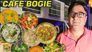 Amazing Food at Cafe Bogie | Restaurant in a Train | Pakistan Street Food