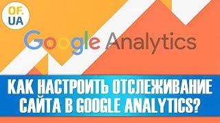 Як налаштувати сайту в Google Analytics?