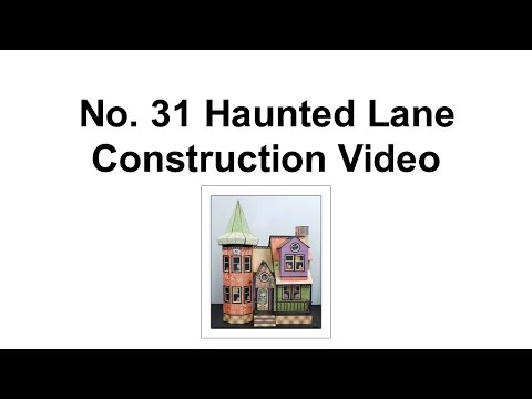 Part 4a - Tower Niches (Construction No 31 Haunted Lane)