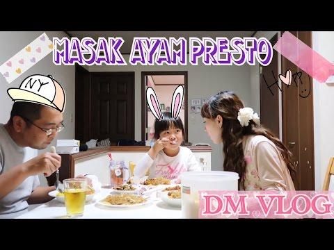 VLOG#78|MASAK AYAM GORENG PRESTO,NASI KUNING,MAU SELAMETAN