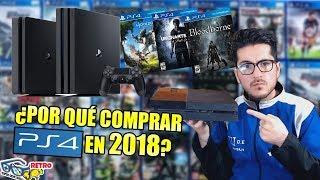 ¿Por qué comprar PS4 en 2018? - Guía y mejores juegos | Retro SQS
