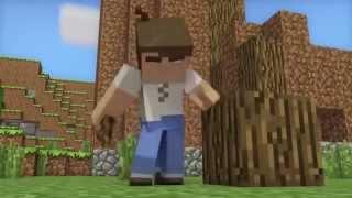 видео: Счастливая жизнь в Minecraft Анимация