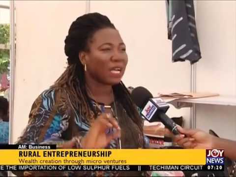Rural Entrepreneurship - AM Business on Joy News (12-10-16)