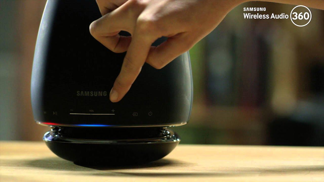 samsung wireless audio 360 nutzung ber bluetooth tv soundconnect youtube. Black Bedroom Furniture Sets. Home Design Ideas