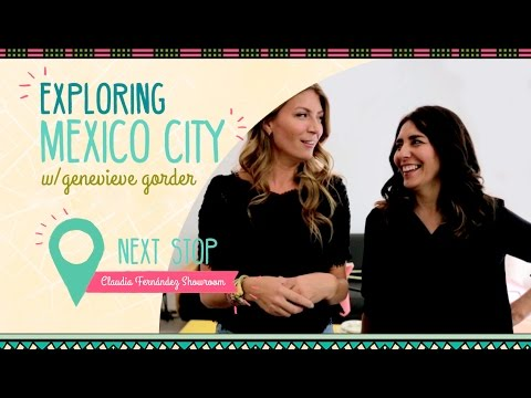Genevieve Gorder Talks Midcentury Mexican Design w/ Vintage Furniture Dealer Claudia  Fernandez