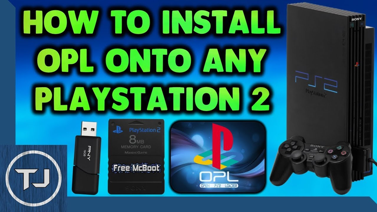 How To Install OPL v0 9 4 Onto Any PS2! (Open PS2 Loader) 2018!