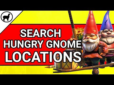 Fortnite Hungry Gnome Locations Guide | Fortnite Battle Royale Season 4 Week 8 Search Hungry Gnomes