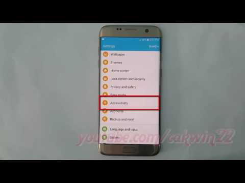 Samsung Galaxy S7 Edge : How to Enable or Disable Voice