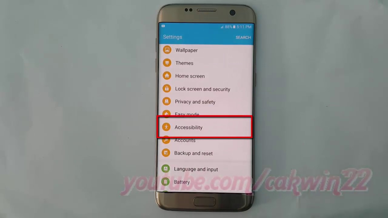 Samsung Galaxy S7 Edge : How to Enable or Disable Voice Assistant Read  phonetic alphabet aloud