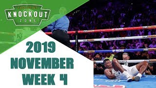 Boxing Knockouts | November 2019 Week 4