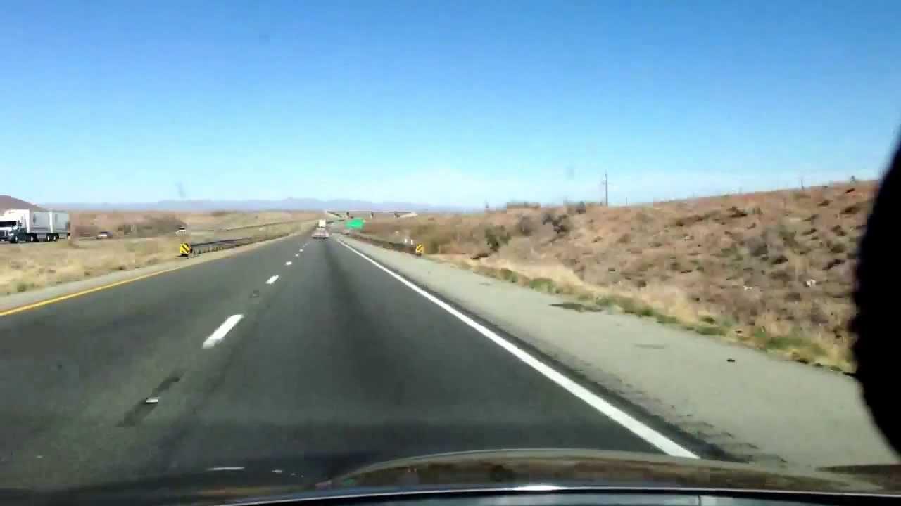 Phoenix Arizona To El Paso Texas 445 Miles In 14minutes