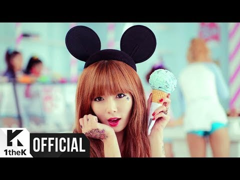 [MV] HyunA(현아) _ Ice Cream (Feat. Maboos)