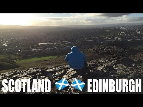 #NoBrainNoGains 013 - Scotland Pt1: Edinburgh, Arthur's Seat and Night Out
