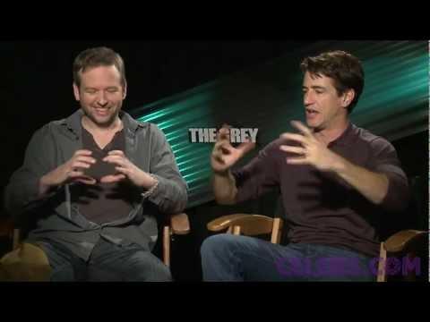 Dermot Mulroney and Dallas Roberts talk THE GREY a CELEBS.COM Original