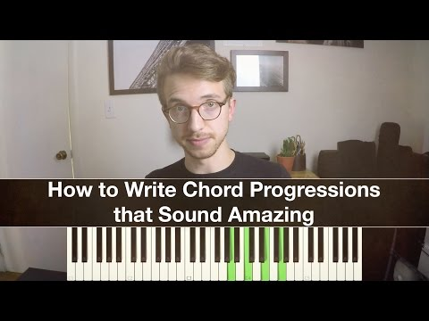 How to find the next chord in the progression when writing a song