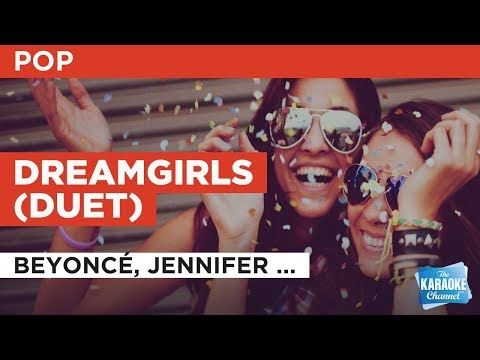 "Dreamgirls in the Style of ""Beyoncé, Jennifer Hudson & Anika Noni Rose"" with lyrics (no lead vocal)"