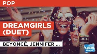 """Dreamgirls in the Style of """"Beyoncé, Jennifer Hudson & Anika Noni Rose"""" with lyrics (no lead vocal)"""