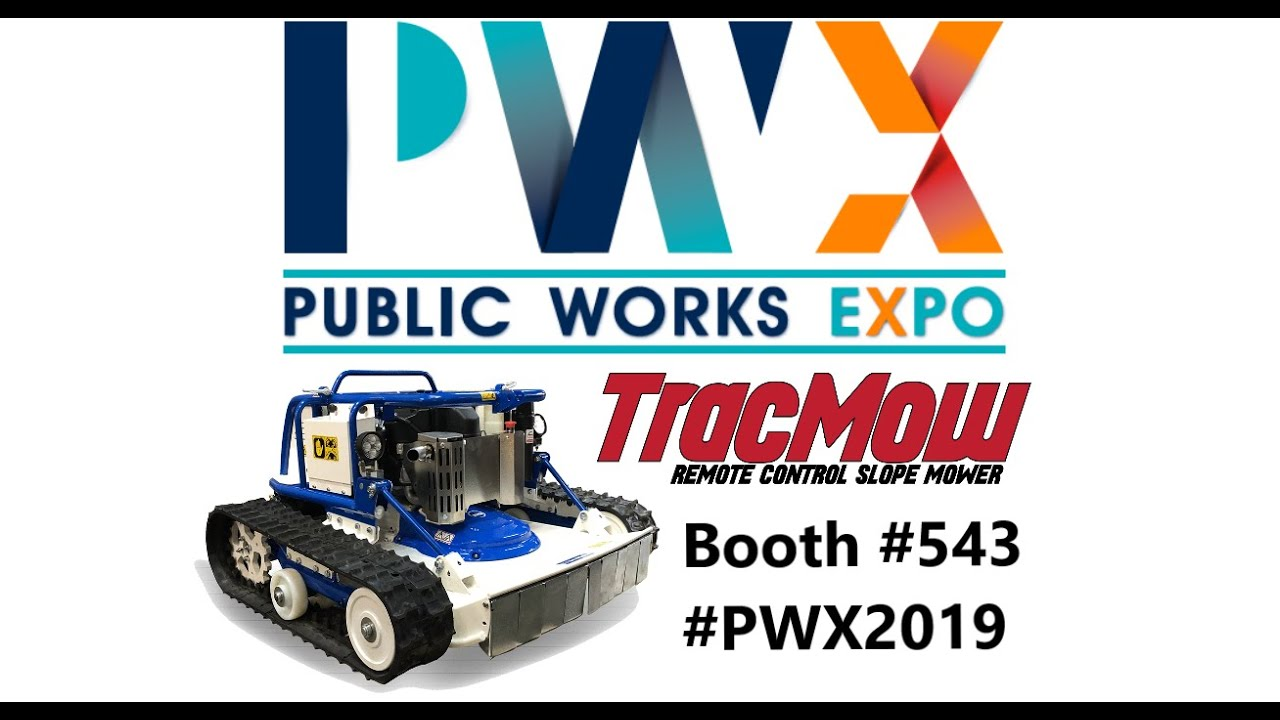 Tracmow is Coming to PWX 2019!