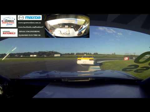 Rx7 Sports Sedan Race Car, 700HP 20b Turbo Rotary @ Phillip Island 2013, Race 3