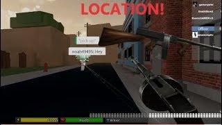 DRUM GUN LOCATION AND GAMEPLAY! Roblox - Da Hood