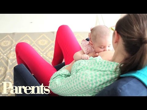 How To Breastfeed In The Straddle Position Parents Youtube