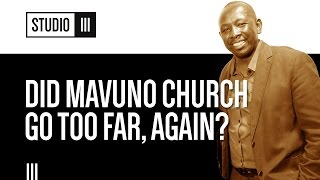 Did Mavuno Church Go Too Far, Again? Pastor M Explains | Studio 3