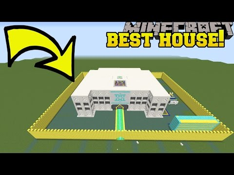 Minecraft: THE MOST EPIC HOUSE IN HISTORY!!! - TRAYAURUS'S ZOMBIE EXPERIMENT - Custom Map [2]