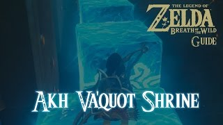 The Legend Of Zelda: Breath Of The Wild - Akh Va'quot Shrine [Guide] [Switch]