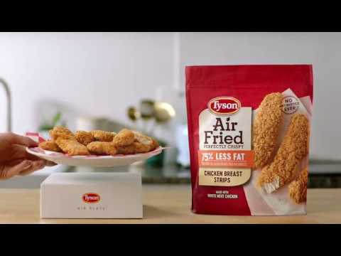 New Tyson Brand Air Fried Chicken Is The Best Thing To Happen To