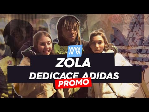 Youtube: ©AWA – Zola x Adidas (Séance dédicace)