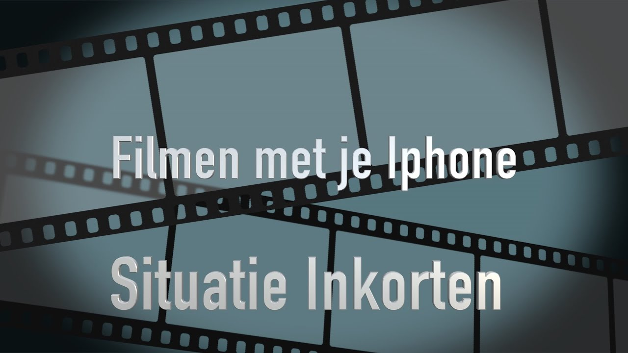 iphone video inkorten